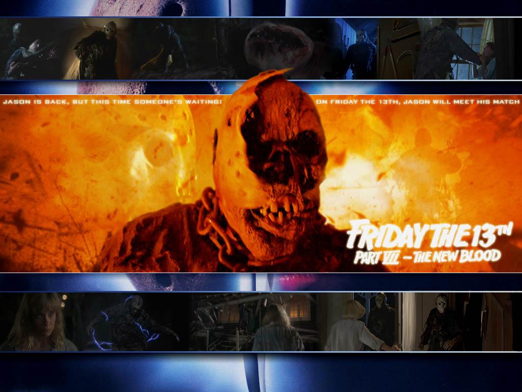 1024 X - Friday 13 A New Blood Jason Voorhees , HD Wallpaper & Backgrounds