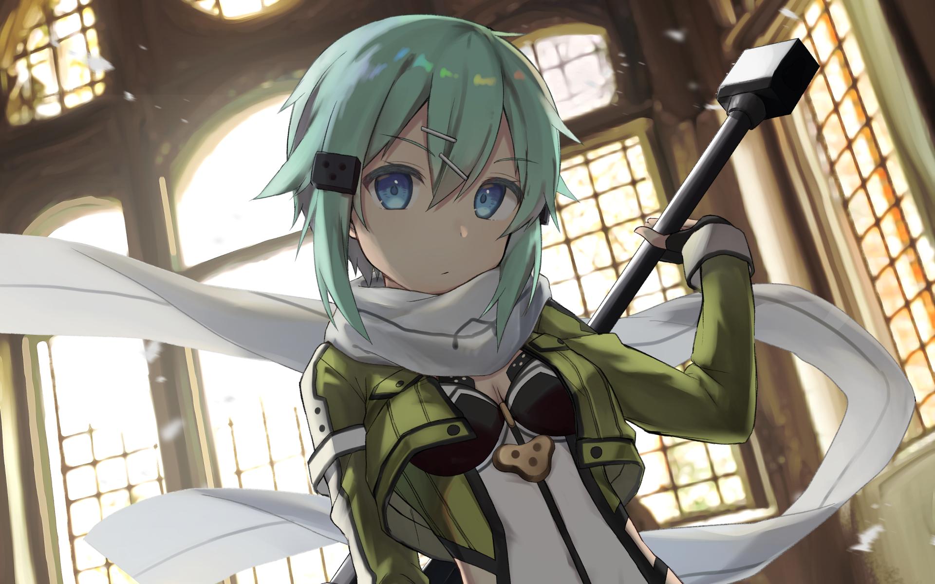Photo Wallpaper Look Anime Art Sword Art Online Sinon Sao