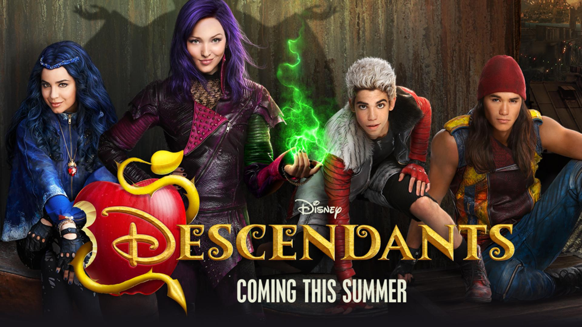 Descendants Disney Movie Wallpaper Disney Descendants 1 375443 Hd Wallpaper Backgrounds Download