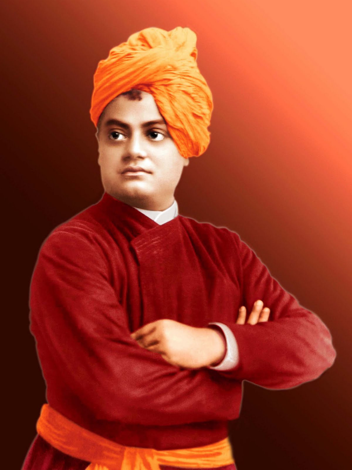 Swami Vivekanand Hd Images For Desktop Pc Background - Swami Vivekananda Hd , HD Wallpaper & Backgrounds