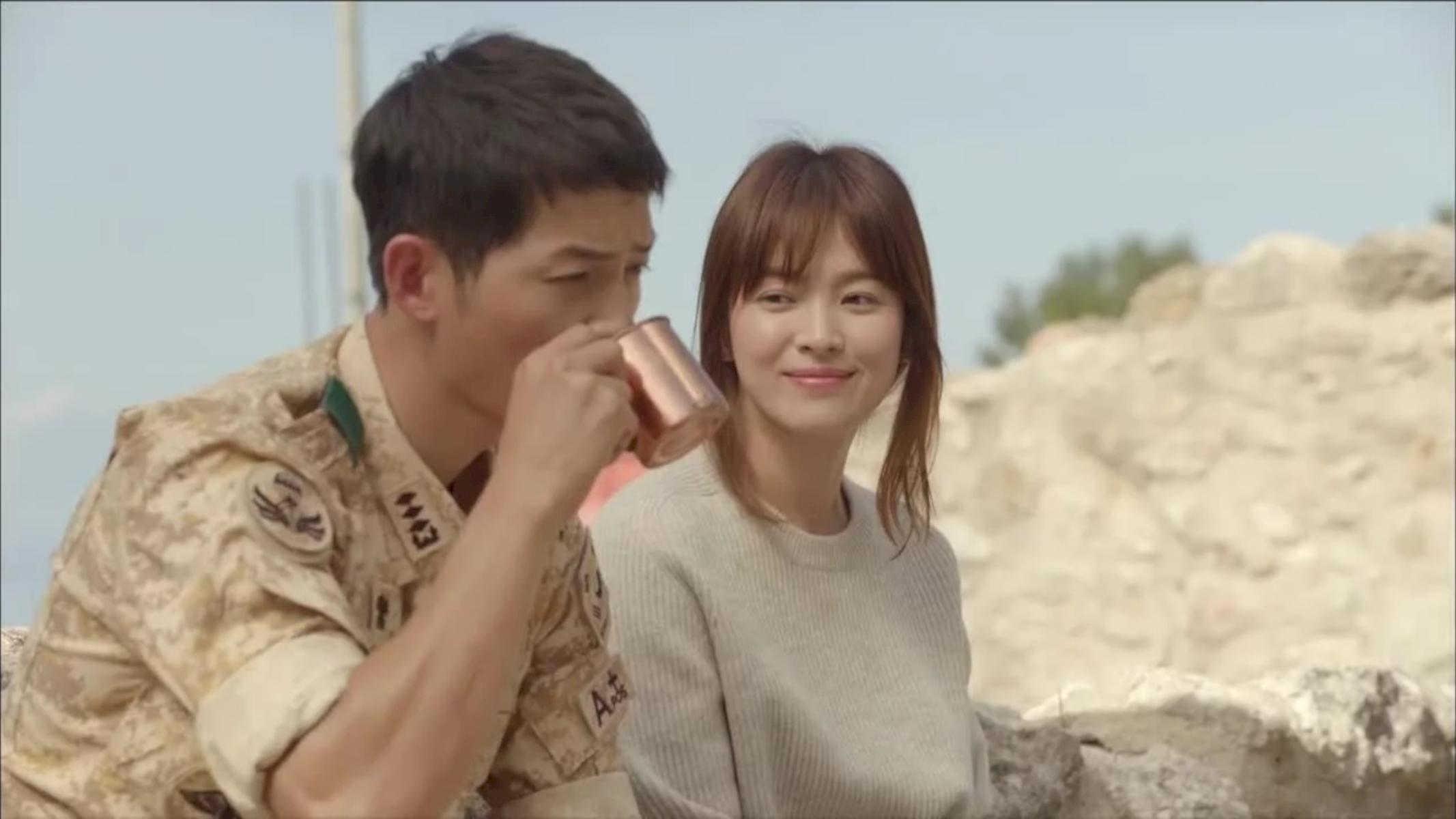 Descendants Of The Sun Ep10 Korean Drama Descendants Of