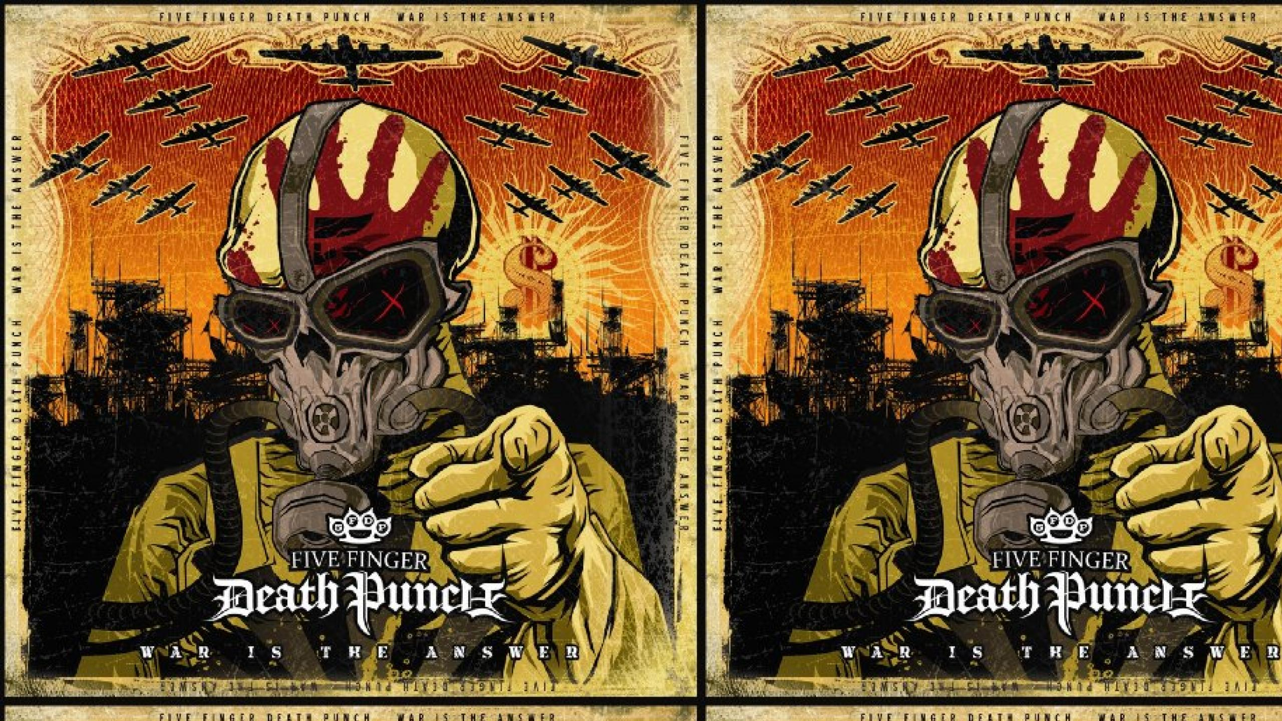 Five Finger Death Punch War Is The Answer Wallpaper Ffdp War Is