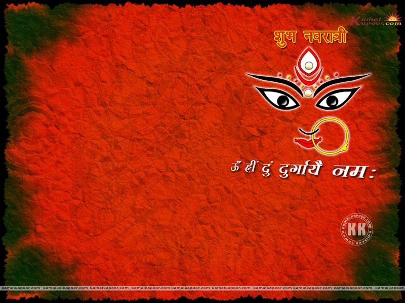 Navratri-wallpaper Wallpaper - Happy Whatsapp Navratri Wishes , HD Wallpaper & Backgrounds