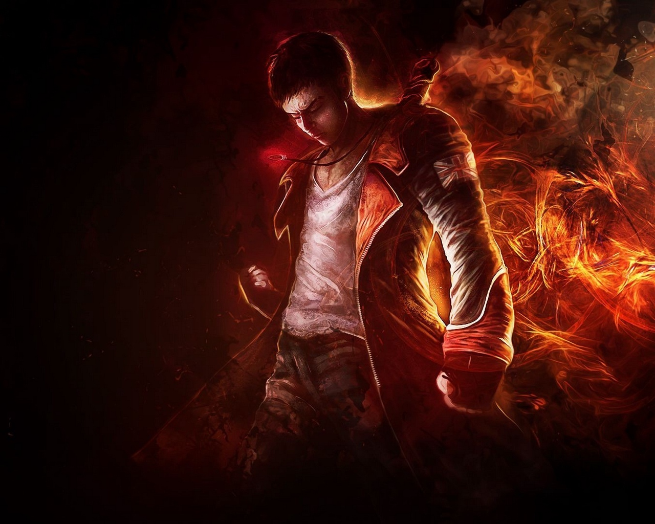 Wallpaper Devil May Cry 5 Dante Art Dmc Dante Devil May