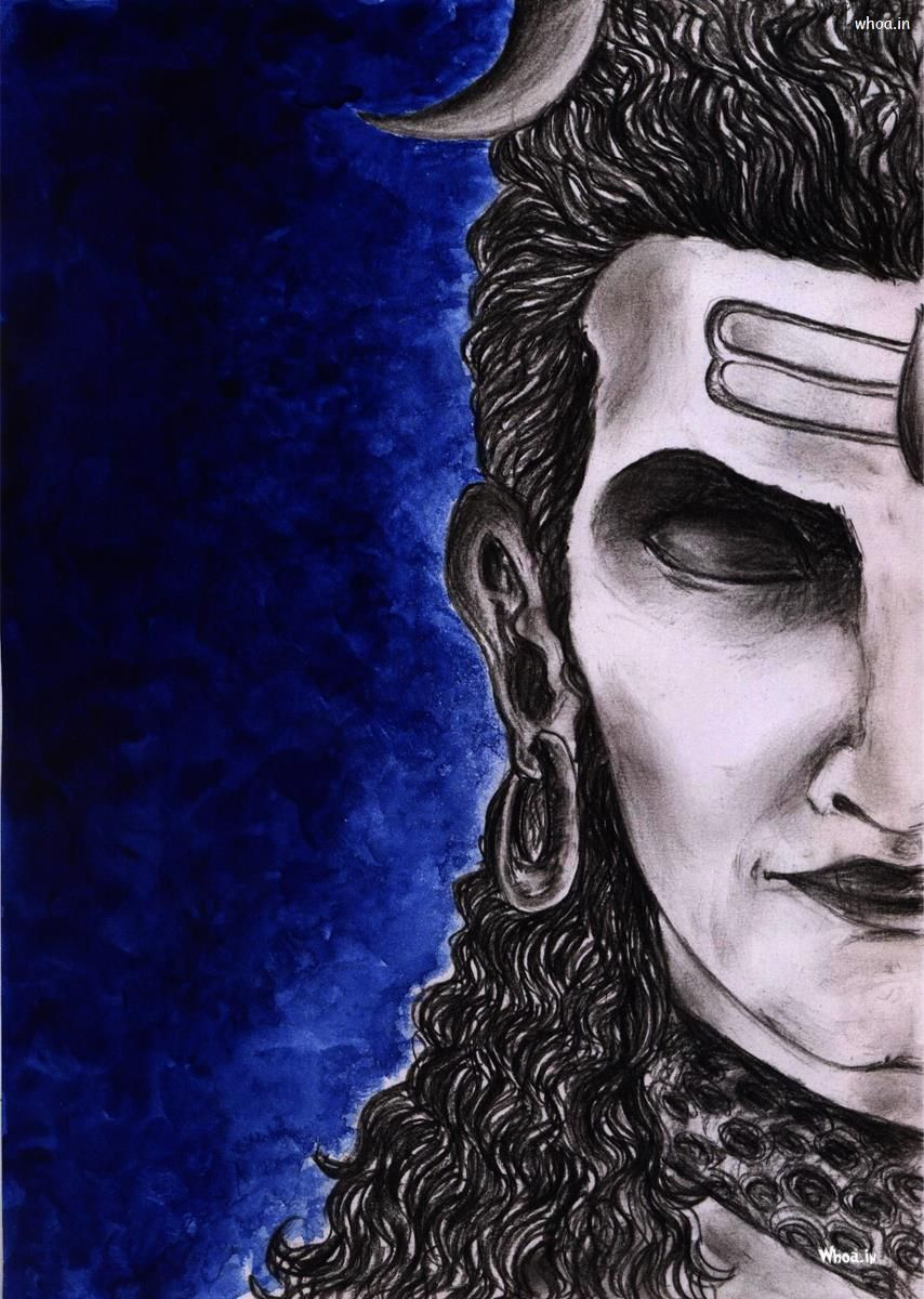 Bhola Baba Wallpaper 670785 Source - Lord Shiva Angry Hd , HD Wallpaper & Backgrounds