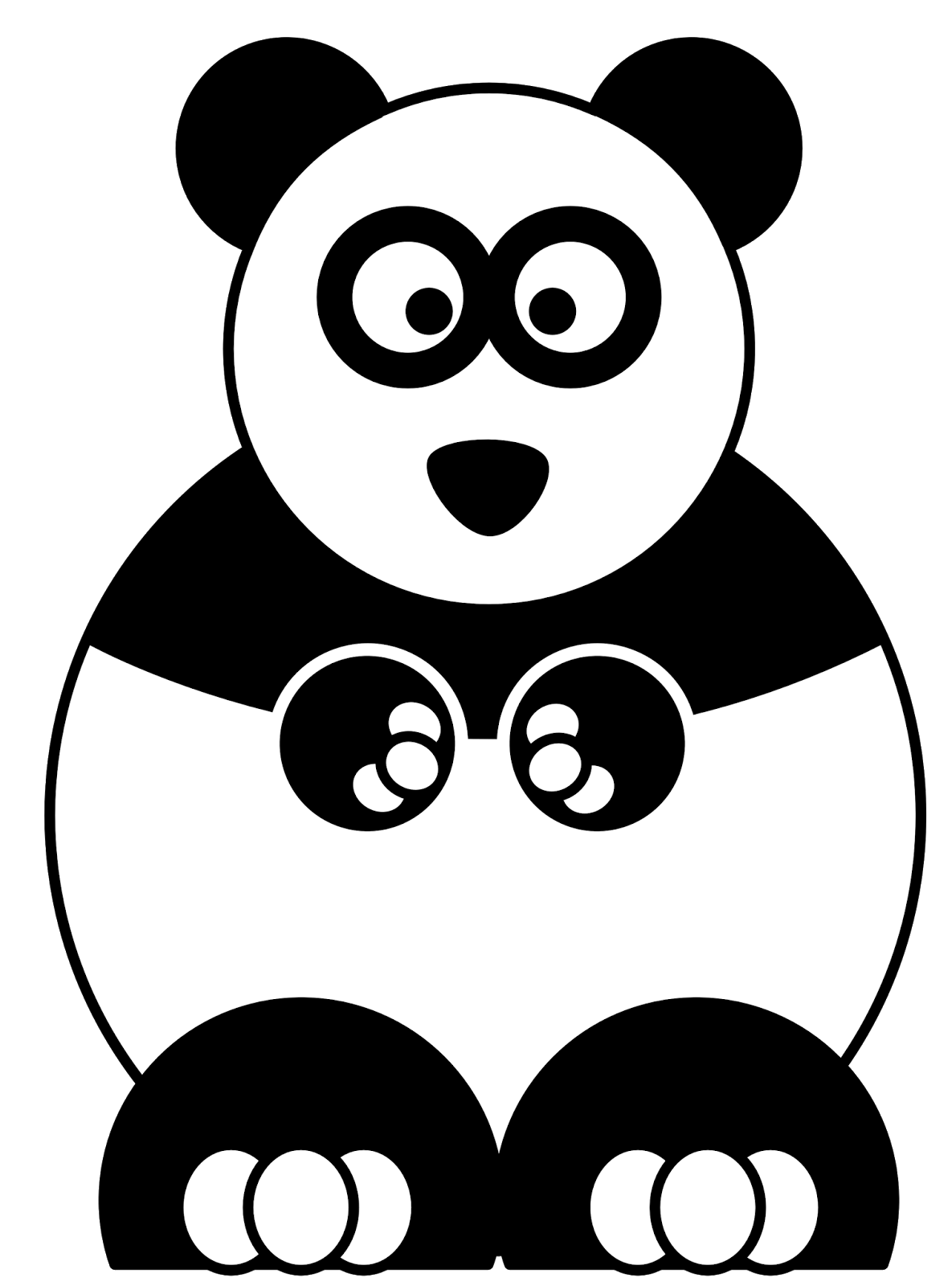 Kumpulan Gambar Hello Panda - Cartoon Panda , HD Wallpaper & Backgrounds