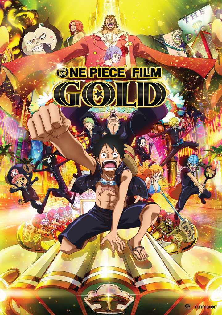 Animasi Kartun Super Keren Yang Wajib Ditonton - One Piece Film Gold Dvd , HD Wallpaper & Backgrounds