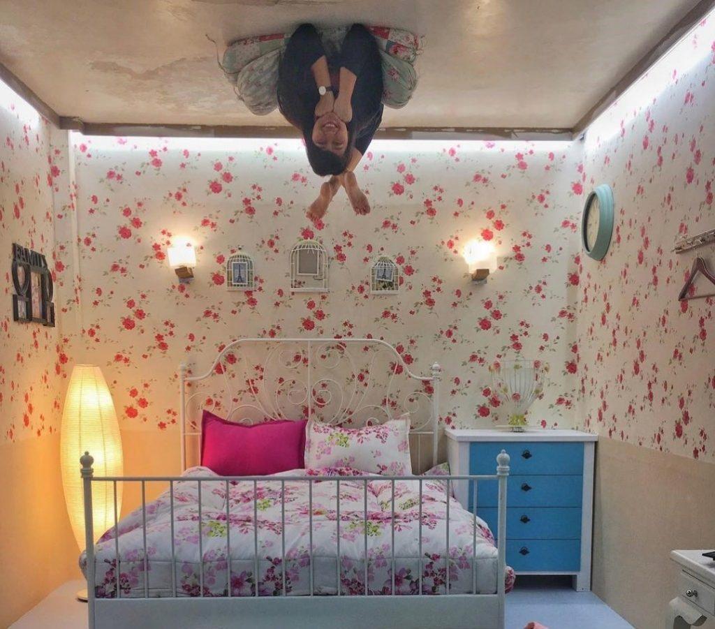 41 Motif Wallpaper Dinding Kamar Tidur Terbaru 2017 Hiasan