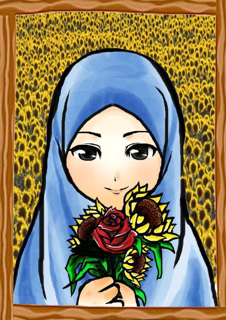 48 Download Gambar Wallpaper Kartun Keren Blog Teraktual - Kapalı Kız Animasyon Resmi , HD Wallpaper & Backgrounds