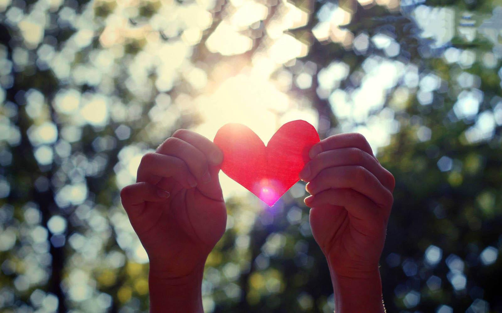 Gambar Tangan Dengan Simbol Love Cinta Love Heart In Hands