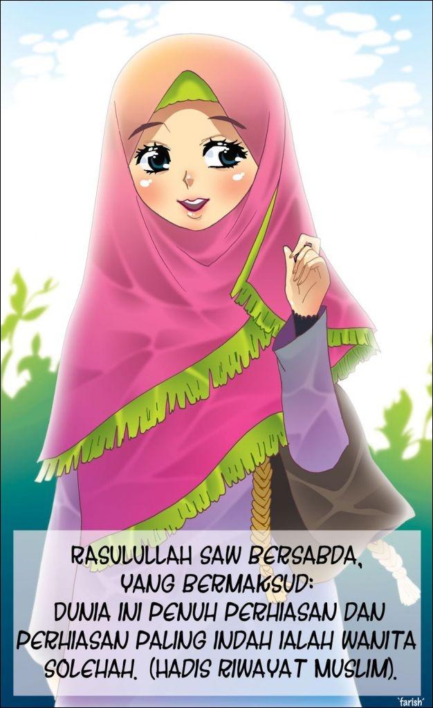 Gambar Kartun Muslim Dan Kata Mutiara Koleksi Gambar