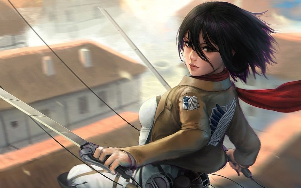 Source Http Www Picstatio Comwallpaper Mikasa