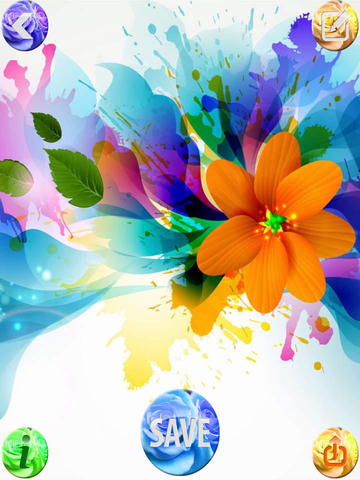 3d - Home Screen Rose Gold Beautiful Flower , HD Wallpaper & Backgrounds