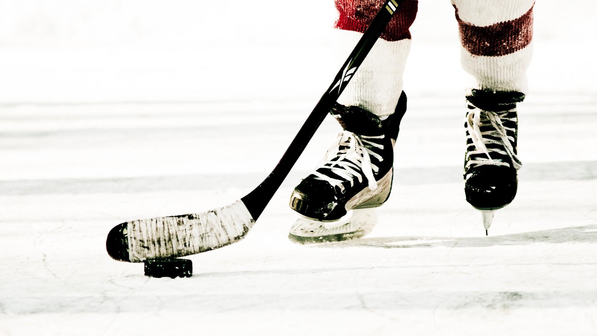 Ice Hockey Wallpaper - Hockey Stick , HD Wallpaper & Backgrounds