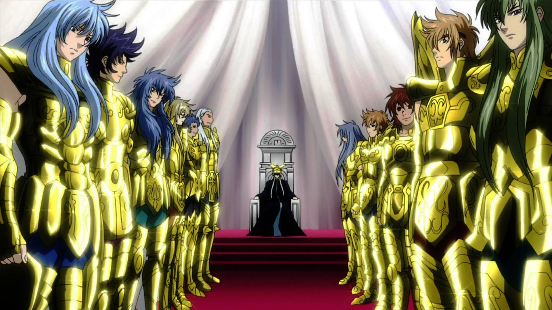 Saint Seiya Gold Saint Lost Canvas 391084 Hd Wallpaper