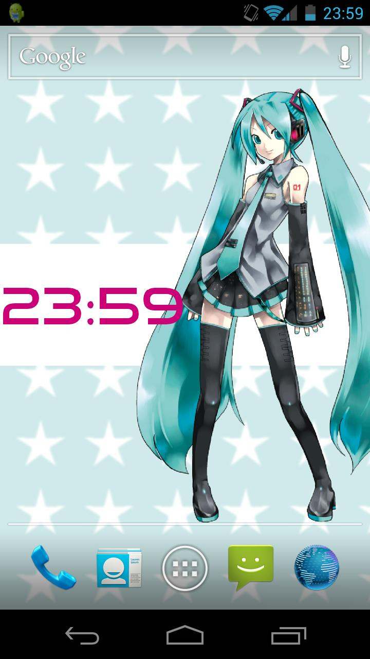Hatsune Miku Live Wallpaper Apk Hatsune Miku Poster 391354