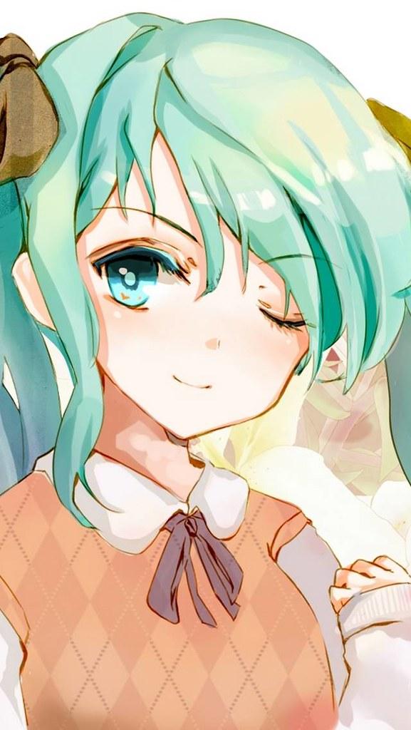 Hatsune Miku Vocaloid Anime Girl Vest Wallpaper Fondos