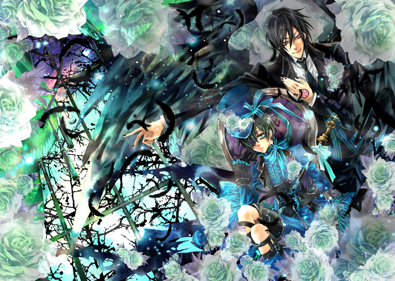 Kuroshitsuji Wallpaper Black Butler 391668 Hd Wallpaper