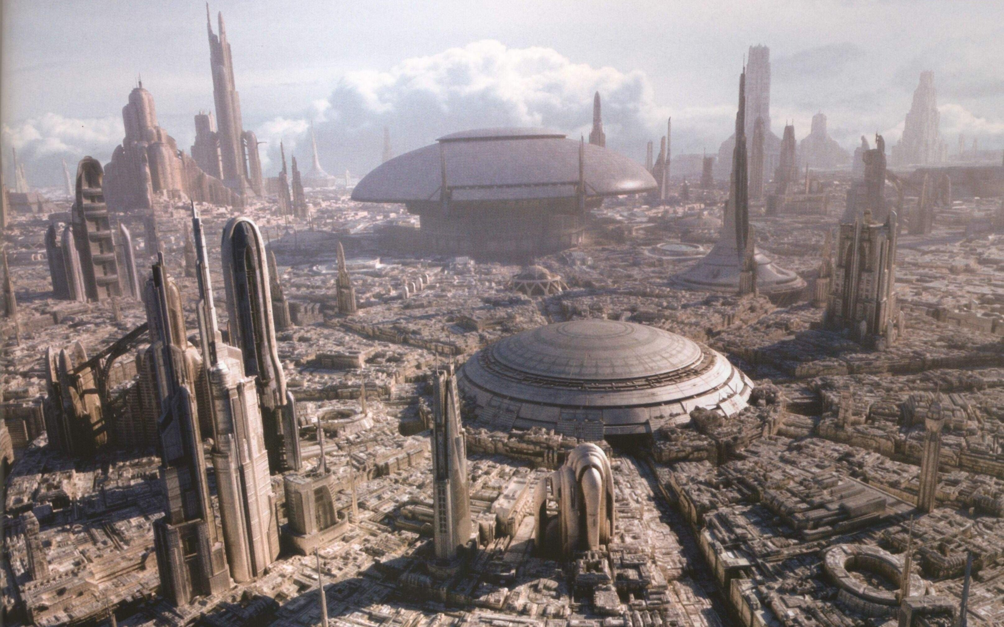 Alienigena, Mobile, Scifi,ciudad,download, Hd Tumblr - Star Wars Coruscant 4k , HD Wallpaper & Backgrounds