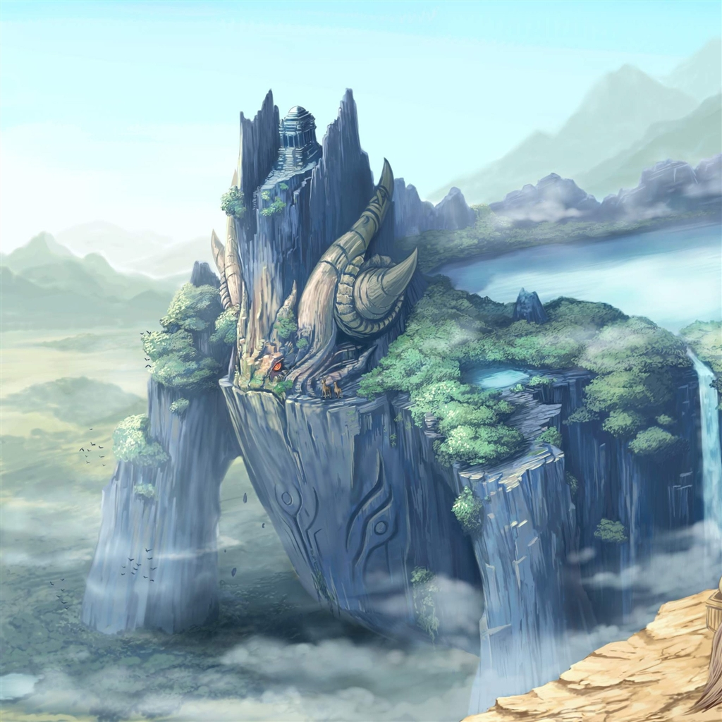 Anime Ipad Air Wallpaper Dual Screen Wallpaper Fantasy 393554