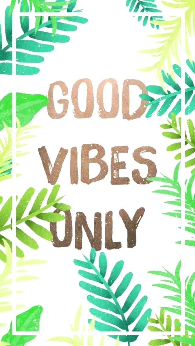 Positive Vibes Wallpaper Tumblr Good Vibes Summer Wallpaper