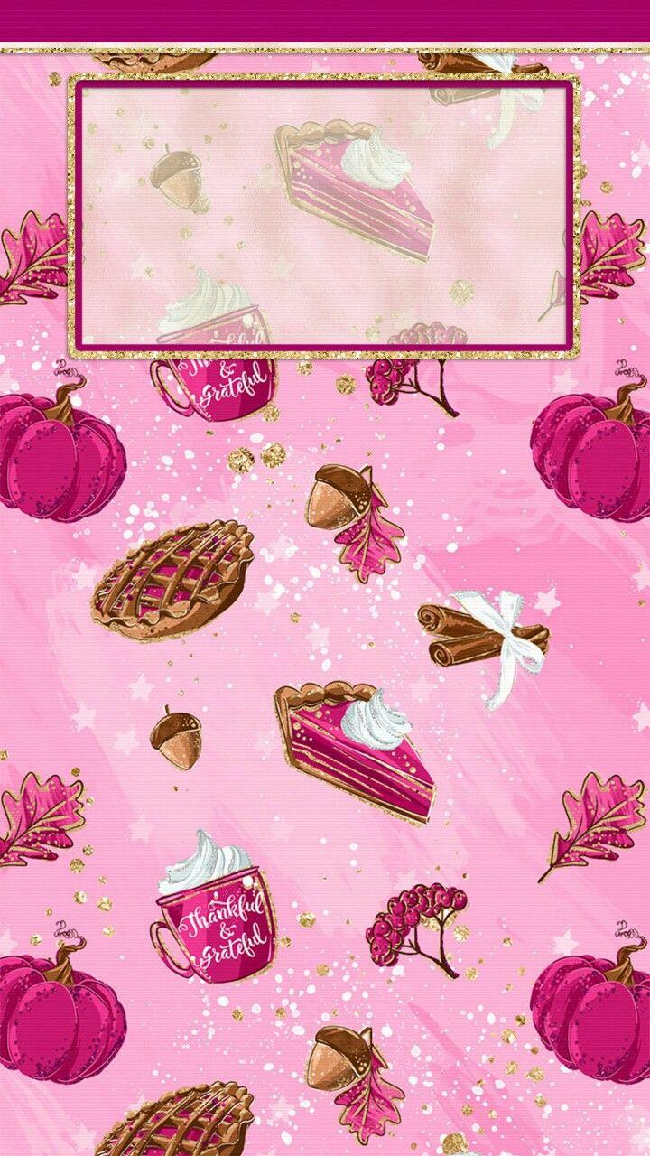 Pink Thanksgiving Iphone Lock Screen Wallpaper - Iphone Lock Screen Wallpaper Pink , HD Wallpaper & Backgrounds