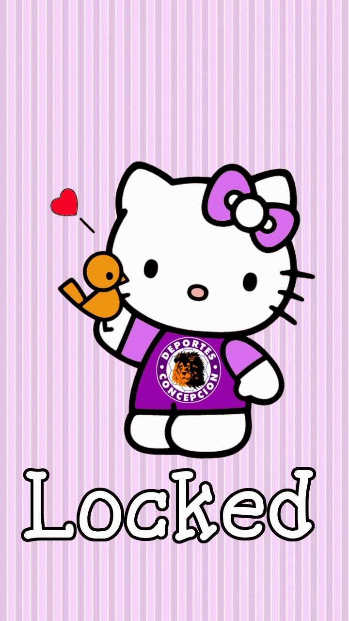 Hello Kitty Lock Screen Wallpaper Hello Kitty Clipart
