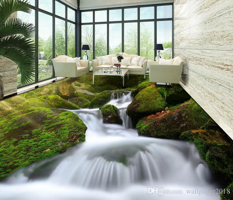 Photo Wallpaper Flower Hd 3d Green Plants Flow Fine Nature