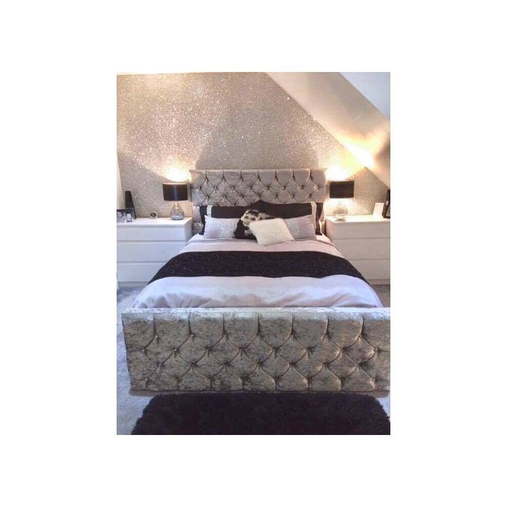 Muriva Glitter Wallpaper Bedroom 41711 Hd Wallpaper