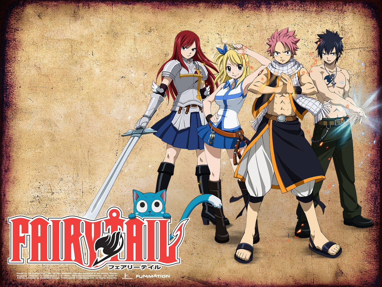 Fairy Tail Wallpaper And Background Image - 2011 Anime Fairy Tail , HD Wallpaper & Backgrounds