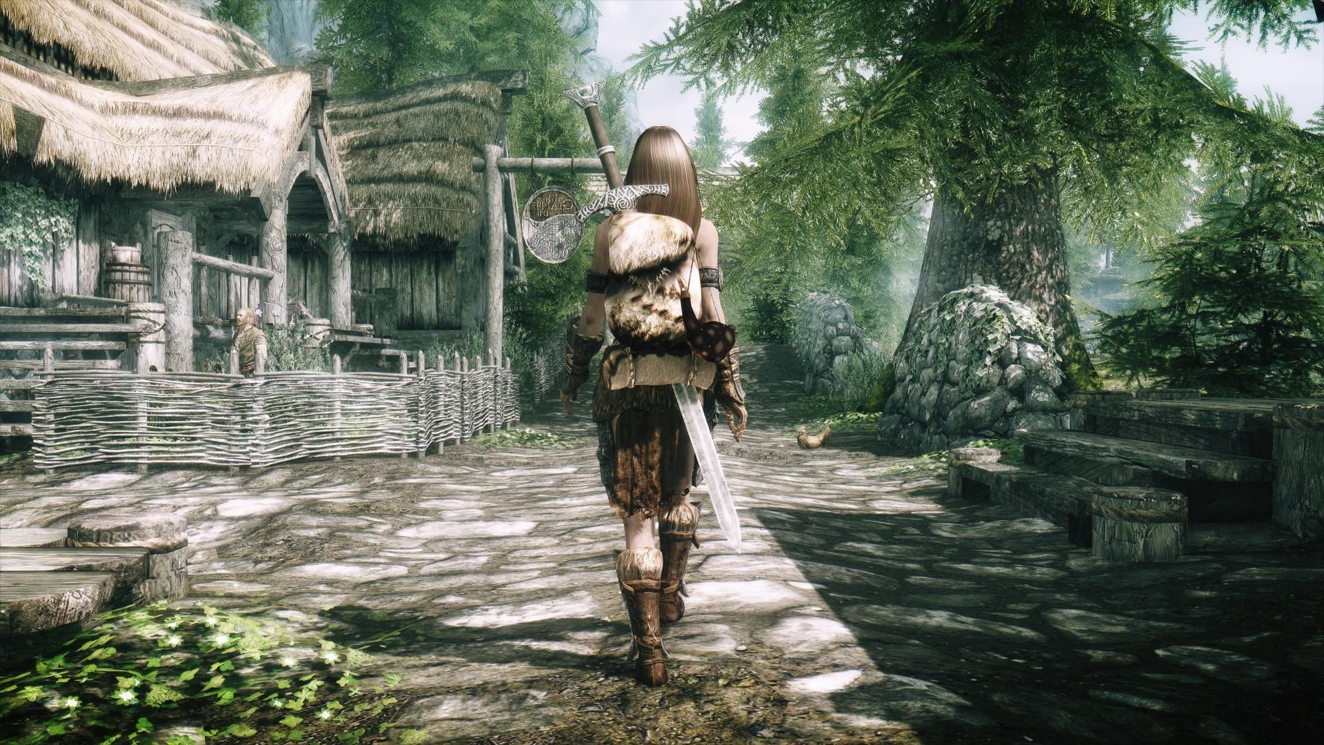 Skyrim Wallpaper Android - Ps4 Rpg Games 2019 , HD Wallpaper & Backgrounds