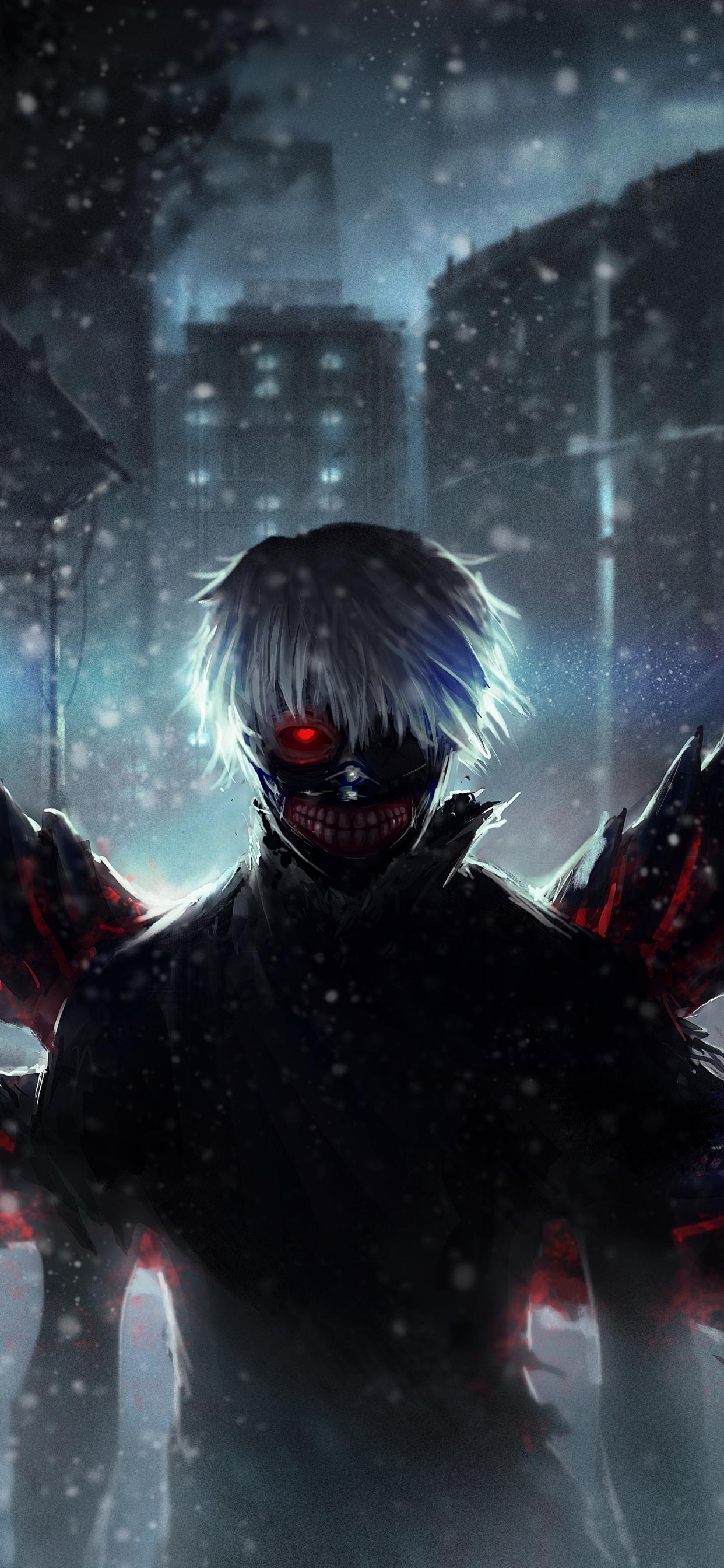 Darkness Extinction Ken Kaneki Ghoul Anime Wallpaper