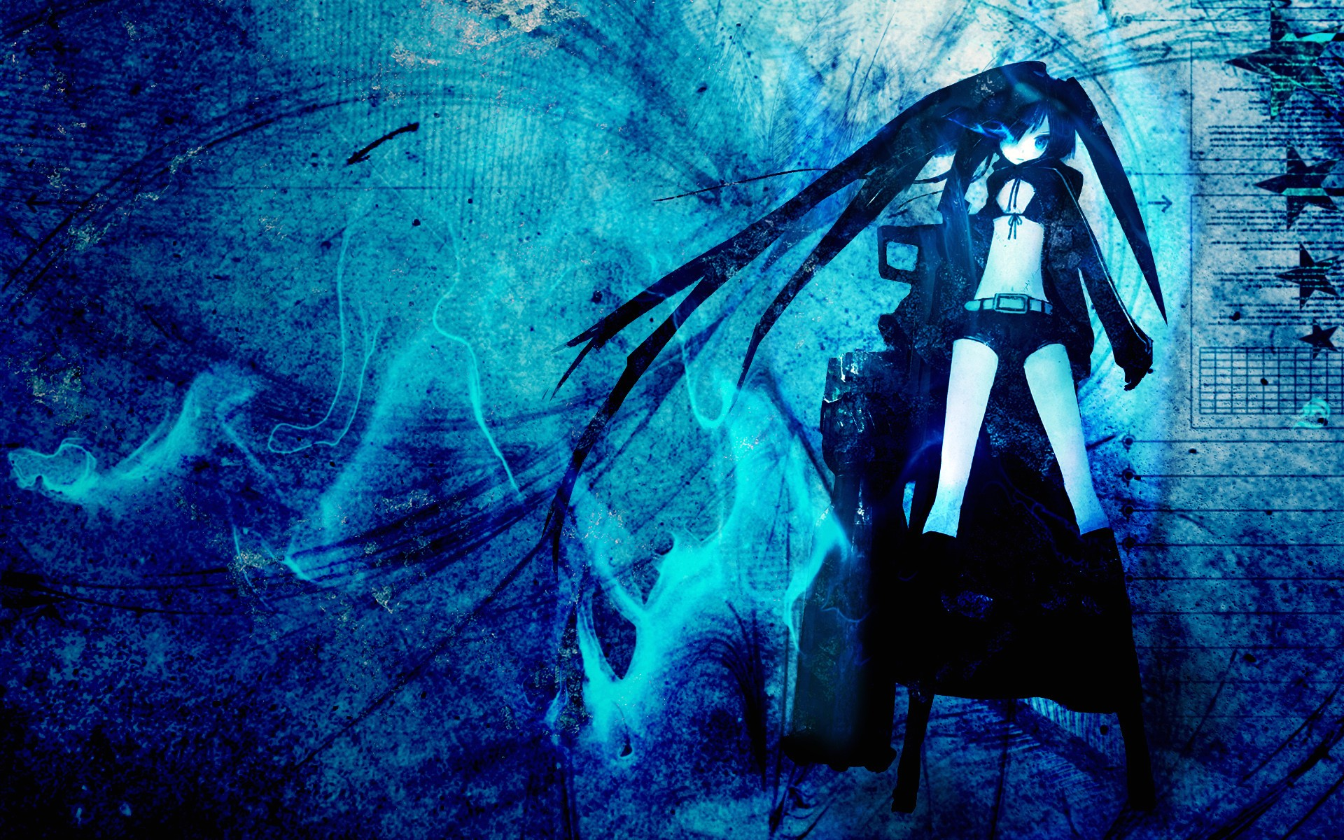 Anime Wallpapers Hd 4k Download For Mobile Iphone Pc Black Rock Shooter Wallpaper Laptop 45121 Hd Wallpaper Backgrounds Download