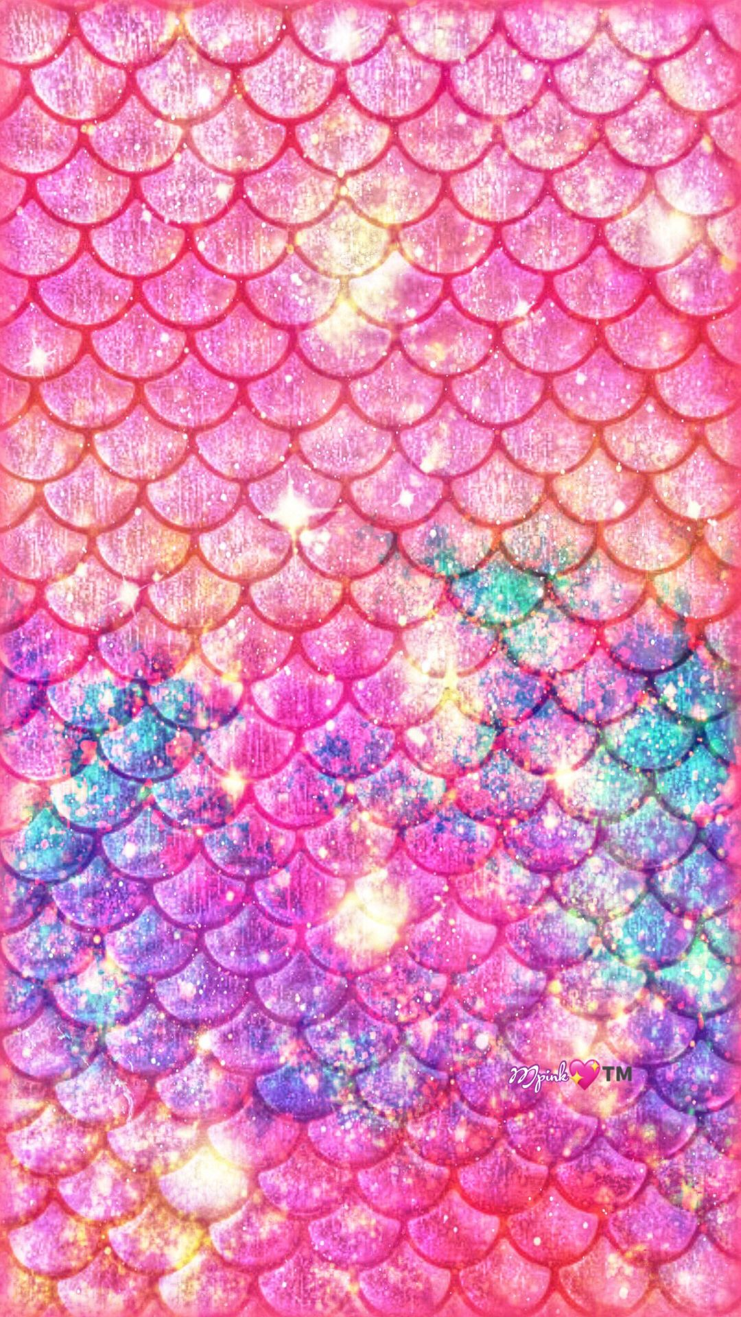 Mermaid Glitter Iphone Wallpaper Vintage Girly Home Screen Cute