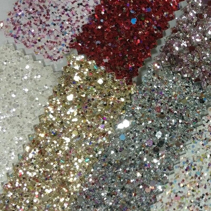 4 48331 grade 3d chunky glitter wallpaper bead