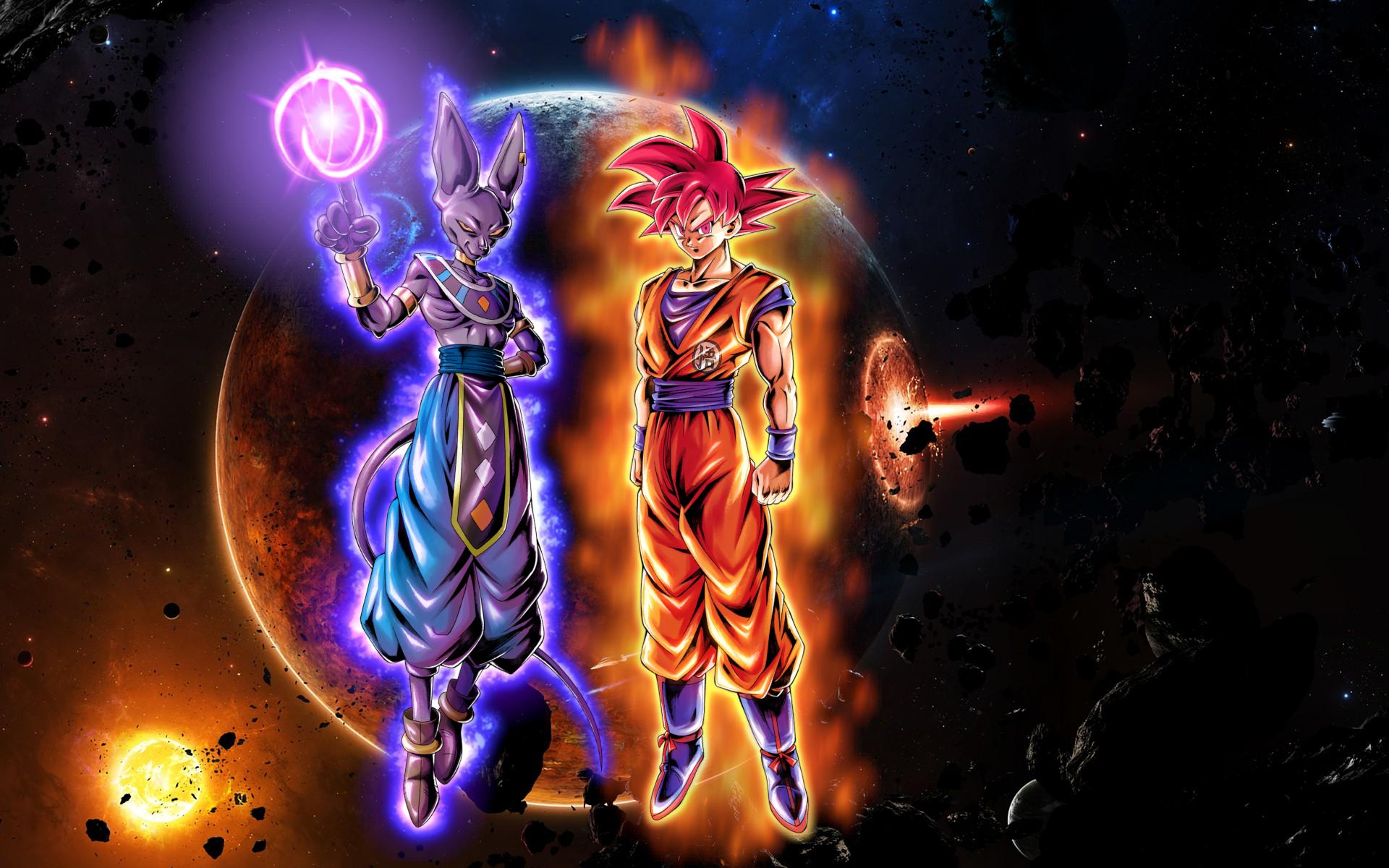Artbeerus Vs Goku Wallpaper Beerus Vs Goku Background