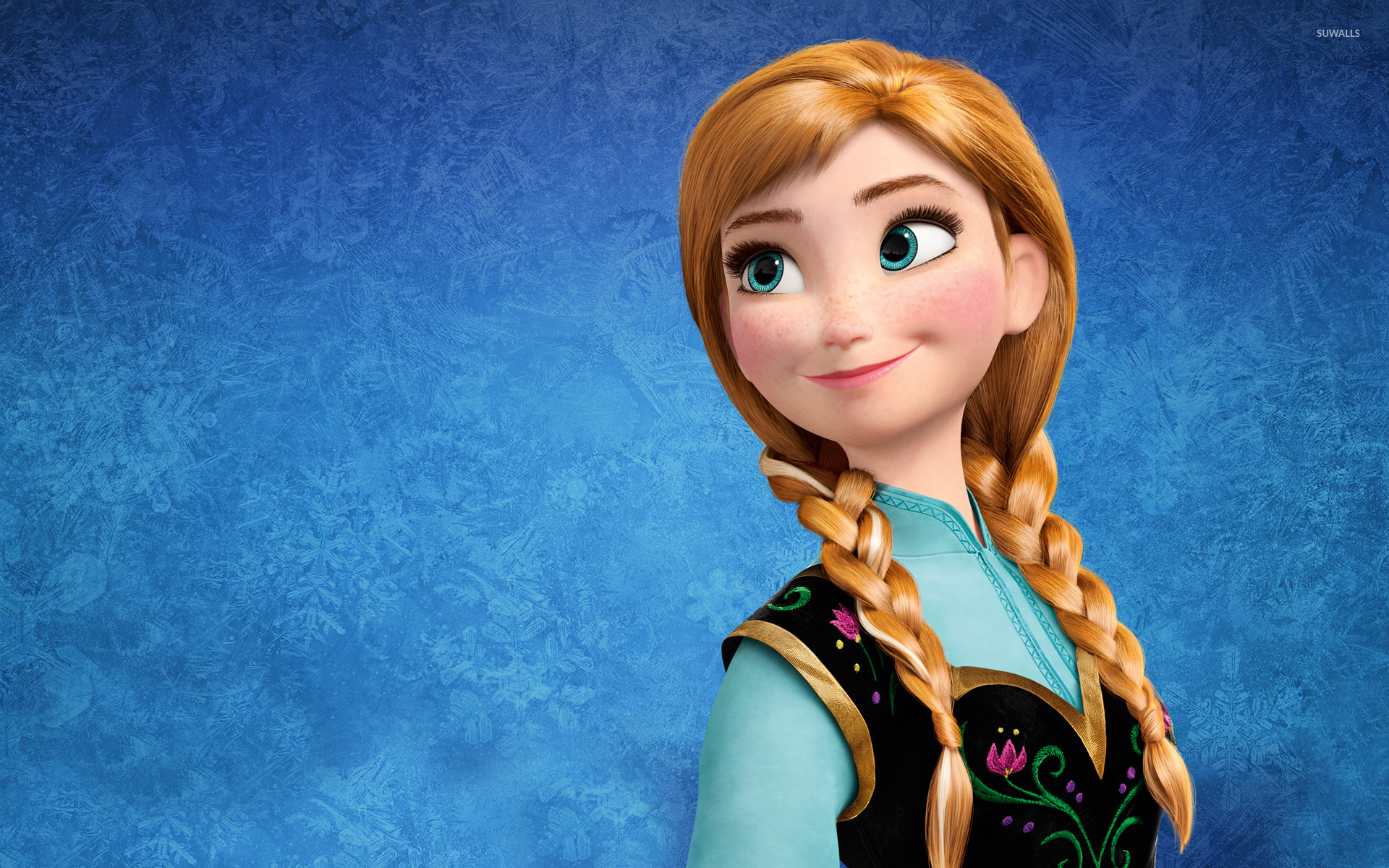 Anna Frozen Wallpaper Anna Frozen 49216 Hd Wallpaper