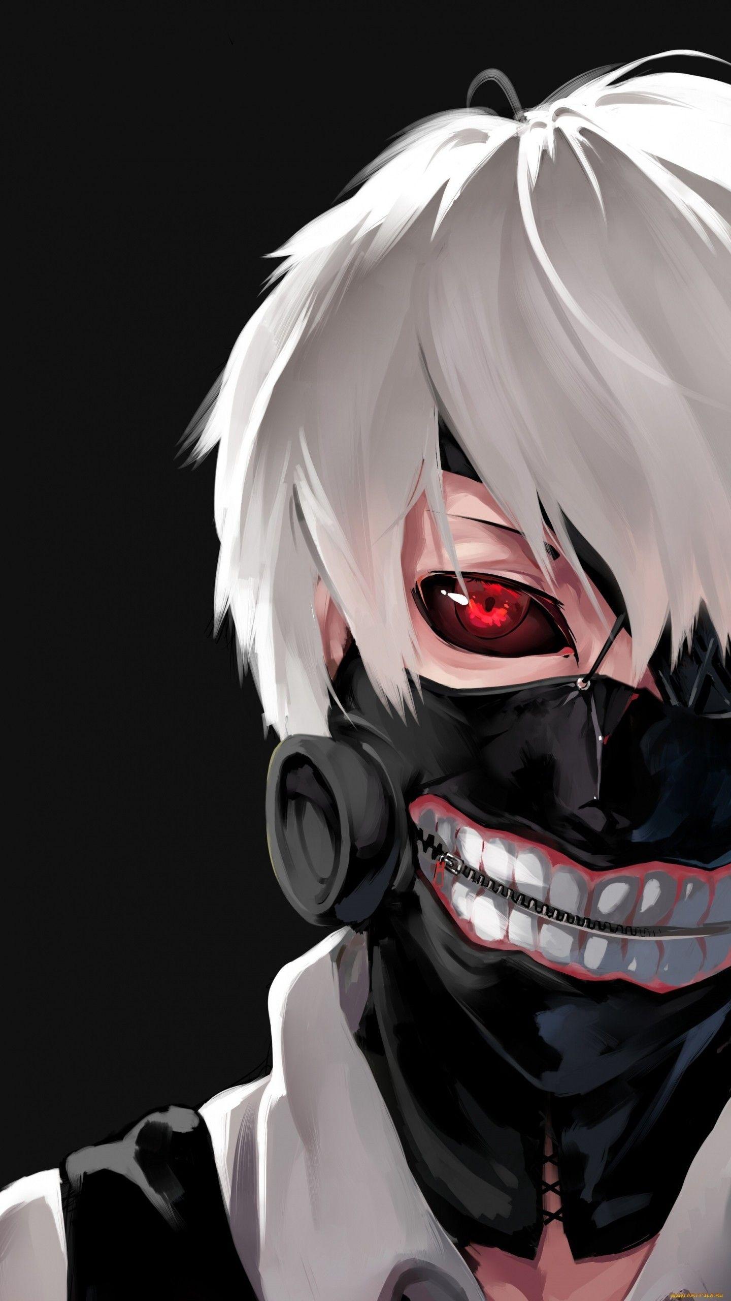 Wallpaper Tokyo Ghoul Kaneki Ken Man Mask Face Kaneki