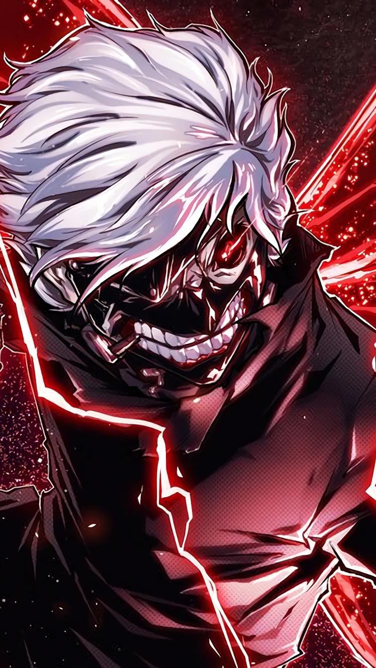 Ken Kaneki Angry Anime Boy Wallpaper Tokyo Ghoul