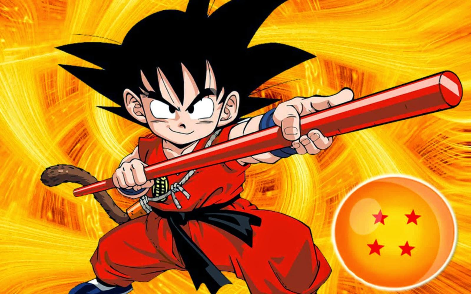 Dragon Ball Wallpaper Goku Dragon Ball Kid Goku Wallpaper - Dragon Ball Z Mystical Adventure Dvd Cover , HD Wallpaper & Backgrounds