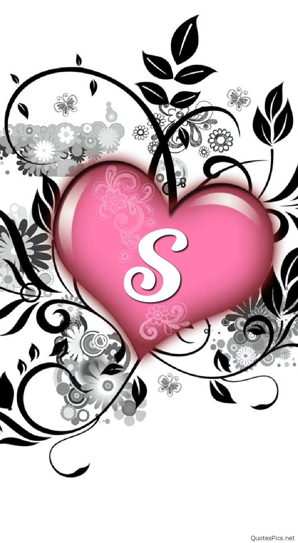 S Letter Wallpaper Wallpapers For Facebook Images 2 Letter S In