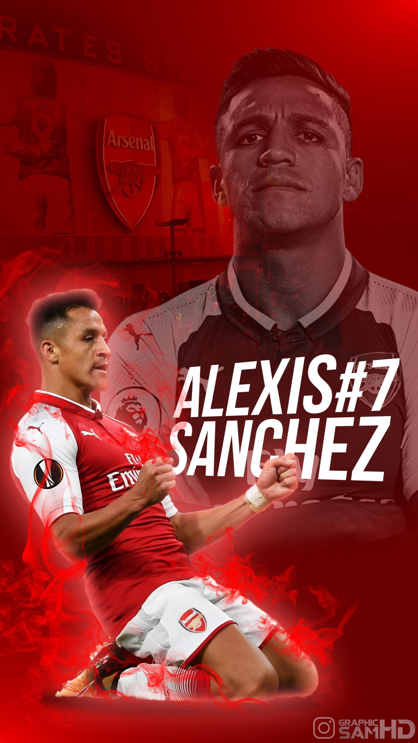 Alexis Alexis Sanchez 2017 2018 404031 Hd Wallpaper