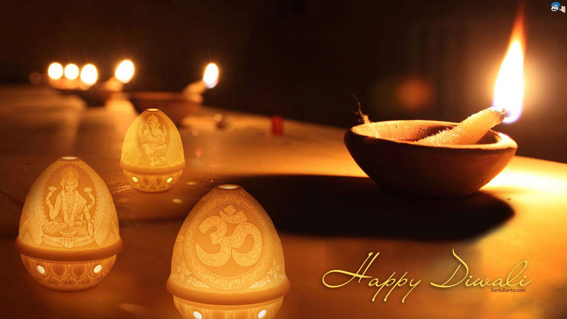 Santabanta Diwali Hd Wallpaper Free Download - Happy Diwali & Prosperous New Year , HD Wallpaper & Backgrounds