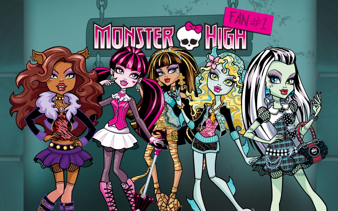 Monster High Wallpaper - Nome Das Monster High , HD Wallpaper & Backgrounds