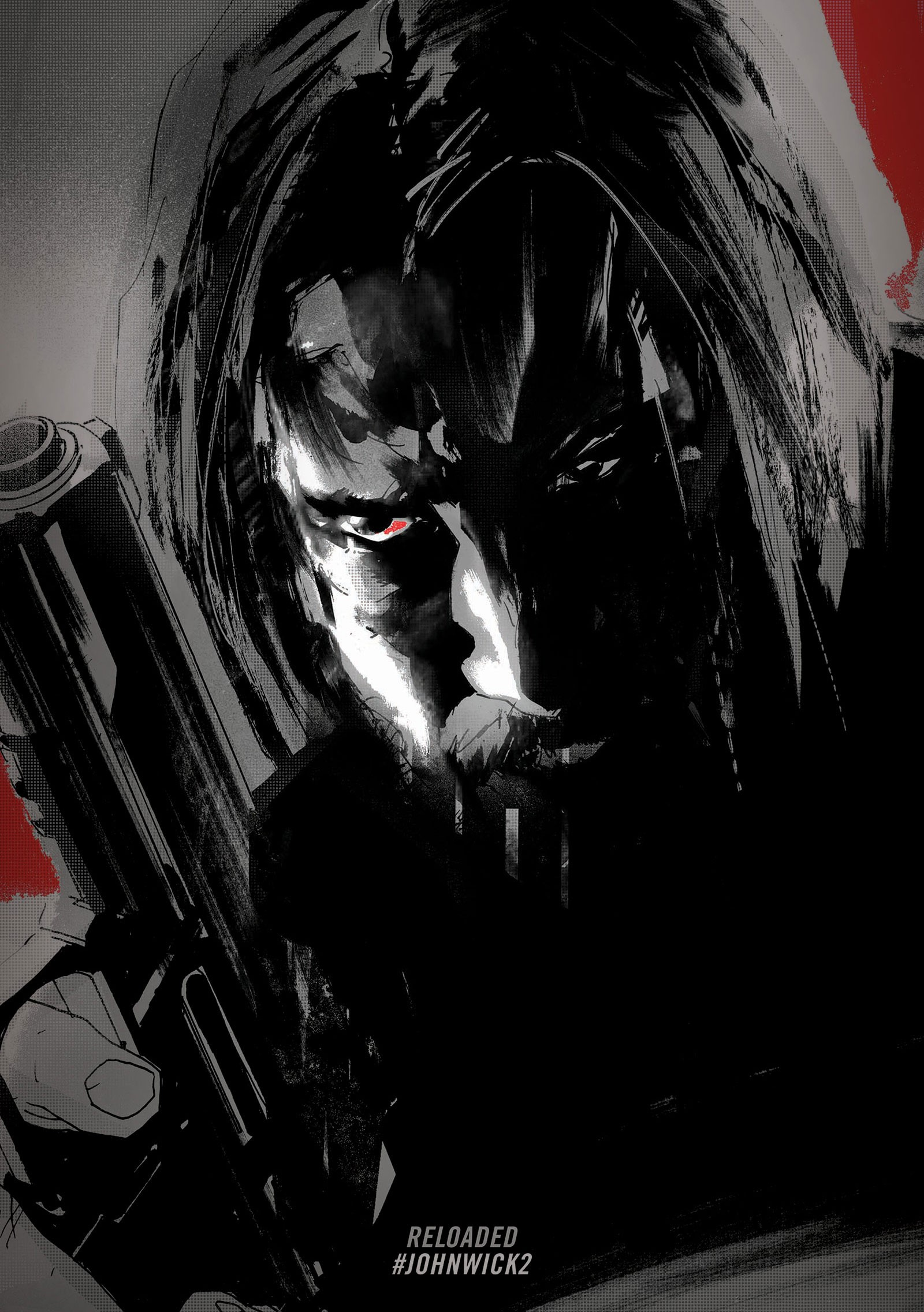 Keanu Reeves John Wick Movies Artwork John Wick Chapter