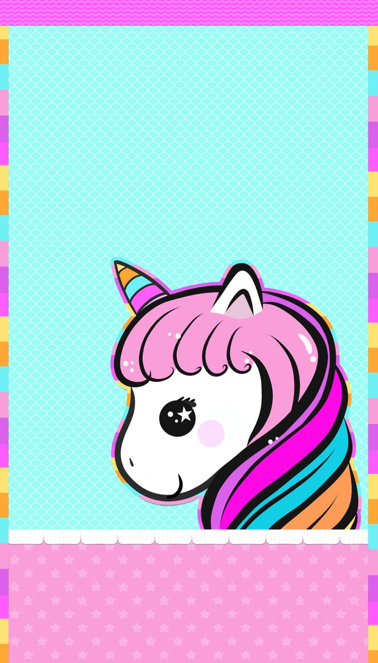 Cute Wallpapers For Android Free Download Wallpaper - Unicorn Background For Iphone , HD Wallpaper & Backgrounds