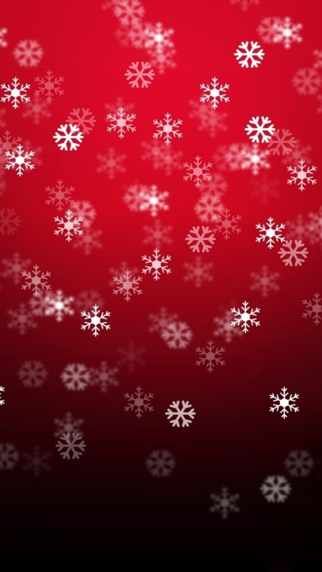 Christmas Snowflake Pattern Background Iphone 8 Wallpaper - Iphone 8 Christmas Background , HD Wallpaper & Backgrounds