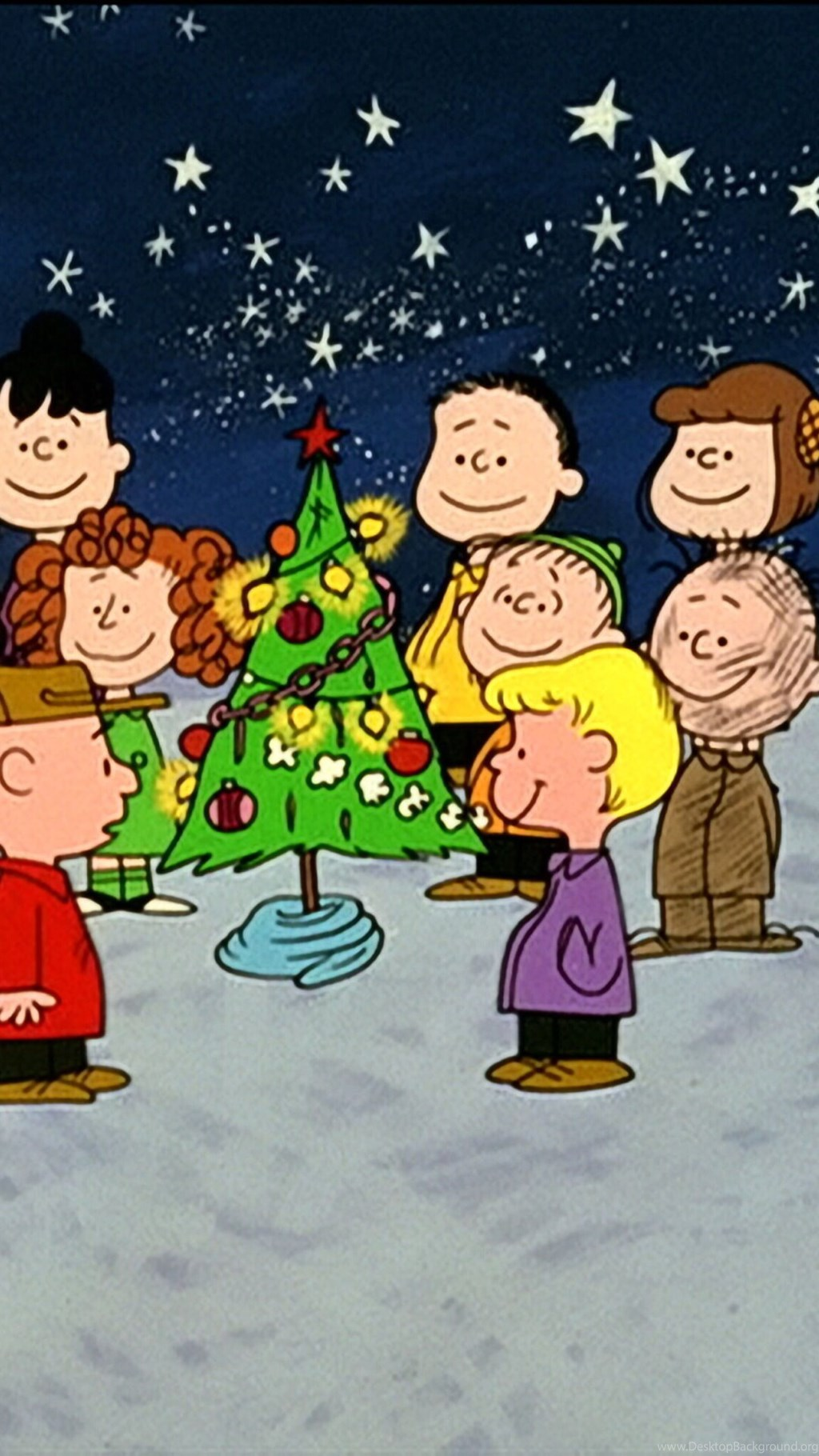 A Charlie Brown Christmas Wallpapers For Iphone 6 Plus - Christmas All About Charlie Brown , HD Wallpaper & Backgrounds