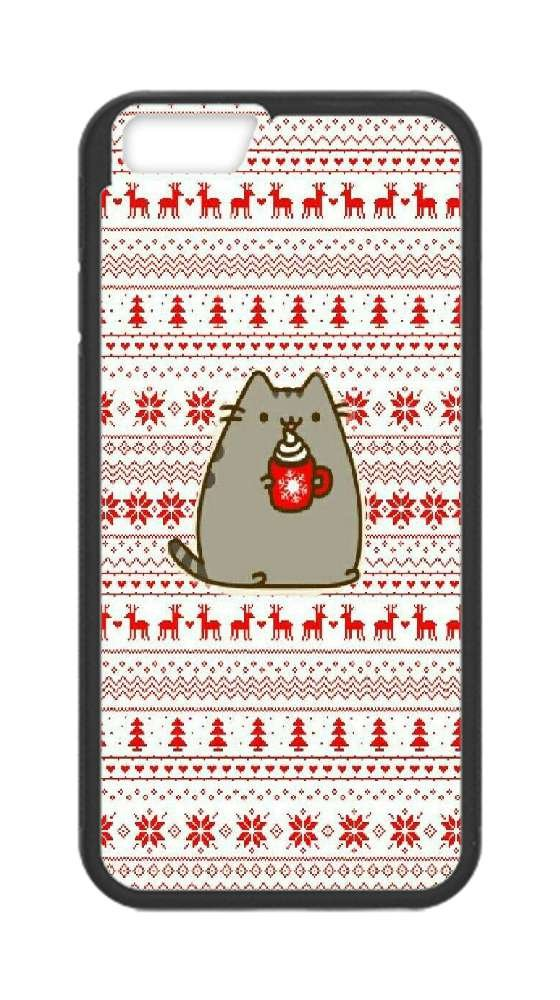 Custom Iphone 6,6s Case,christmas Wallpapers Hard Plastic - Christmas Pattern Wallpaper Iphone , HD Wallpaper & Backgrounds