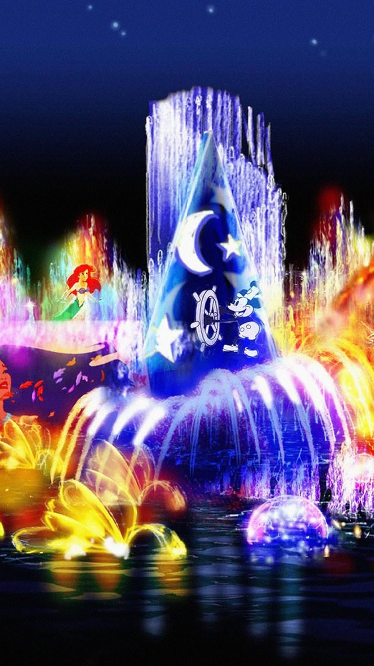 41 411710 disney christmas wallpaper iphone disney world of color
